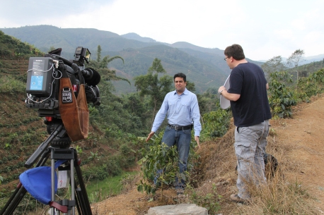 The teafields of Guangxi, China with Jas Johal.