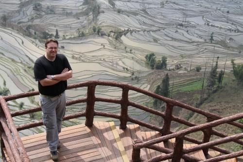 The rice terraces of Yunnan, China