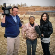On assignment for Global National, Inner Mongolia, China